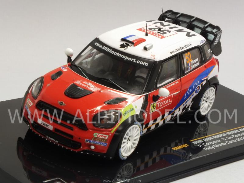 Mini John Cooper Works #52 Rally Monte Carlo 2012 Campana - De Castelli by ixo-models