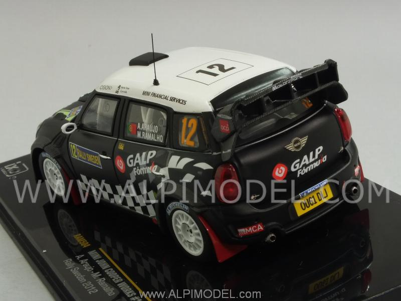 Mini John Cooper Works #12 Rally Sweden Araujo - Rramalho - ixo-models
