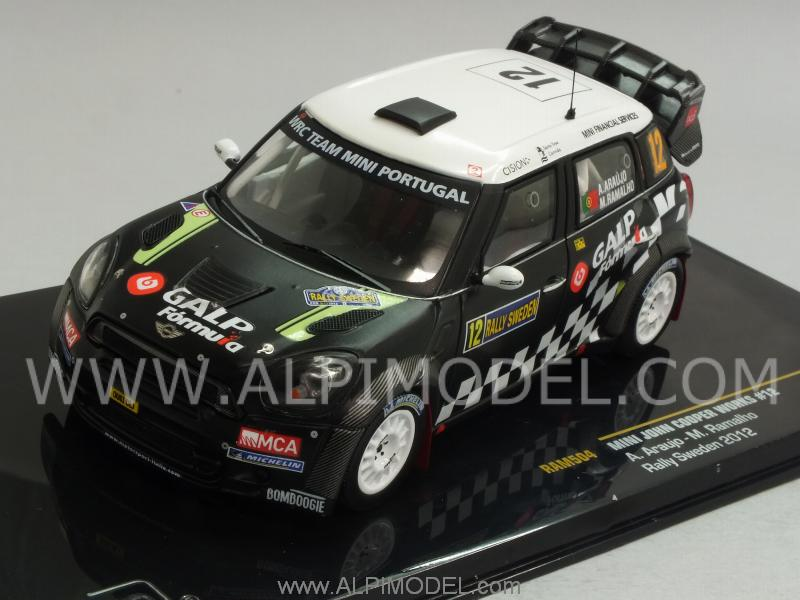Mini John Cooper Works #12 Rally Sweden Araujo - Rramalho by ixo-models