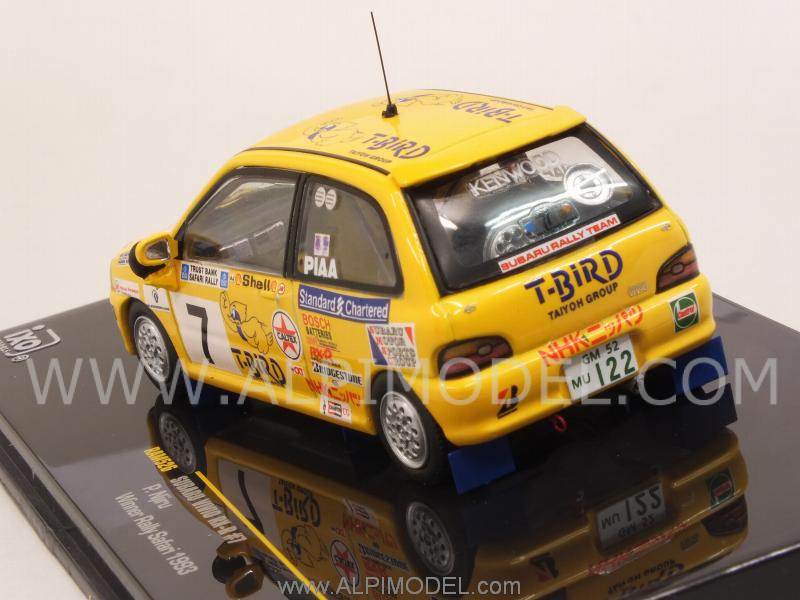 Subaru Vivio RX-R #7 Winner Rally Safari 1993 P.Njiru - ixo-models