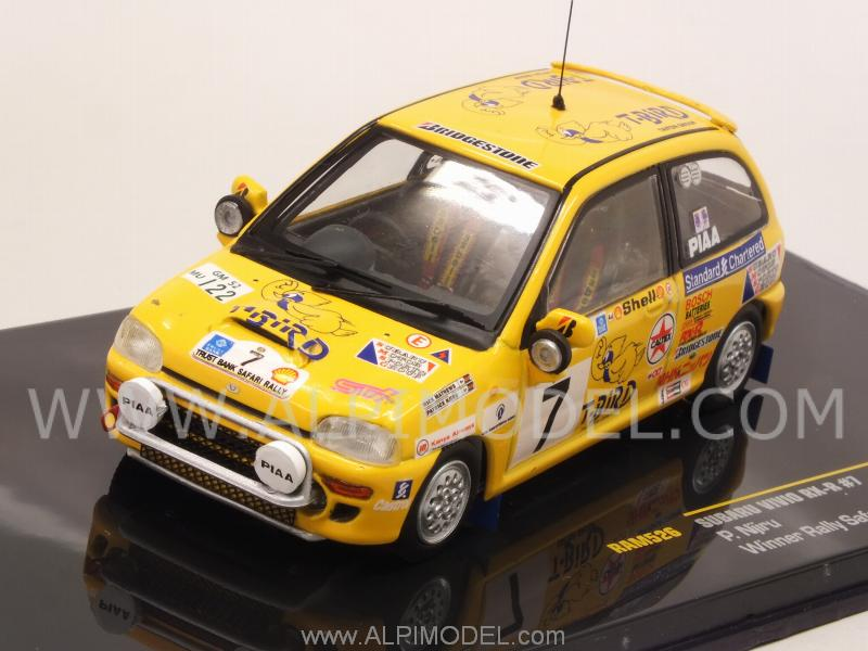 Subaru Vivio RX-R #7 Winner Rally Safari 1993 P.Njiru by ixo-models