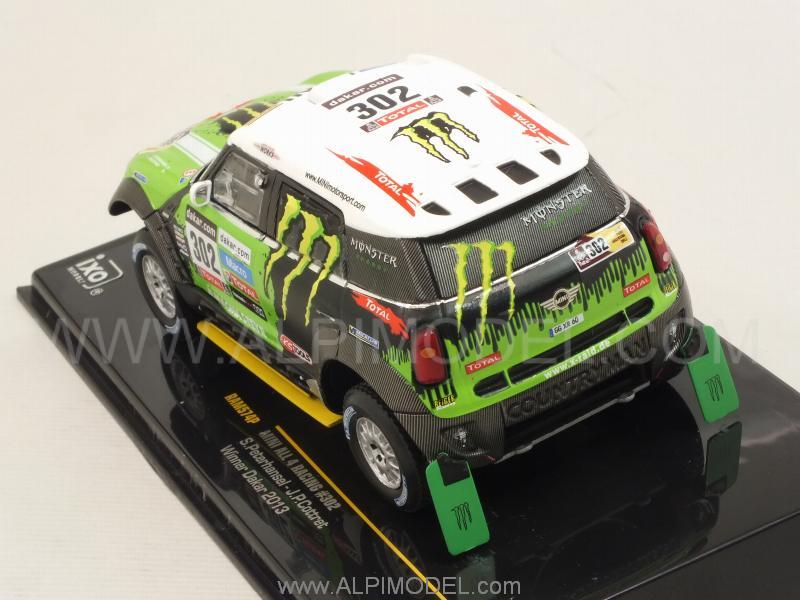 Ixo Models Mini All 4 Racing 302 Winner Rally Dakar 2013