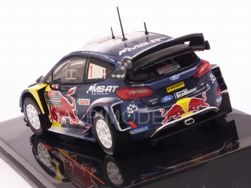 Ford Fiesta WRC #1 Rally Australia 2018 Ogier - Ingrassia (World Champion) - ixo-models