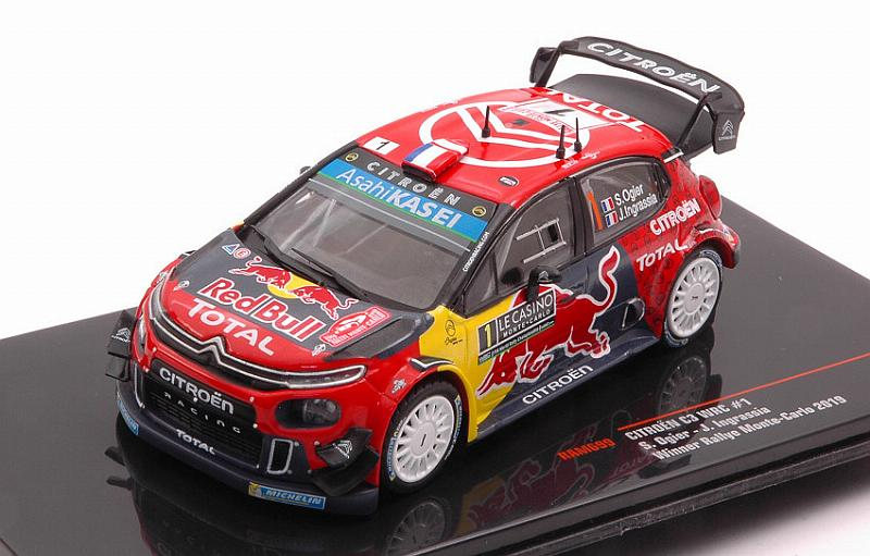 Citroen C3 WRC #1 Winner Rally Monte Carlo 2019 Ogier - Ingrassia by ixo-models