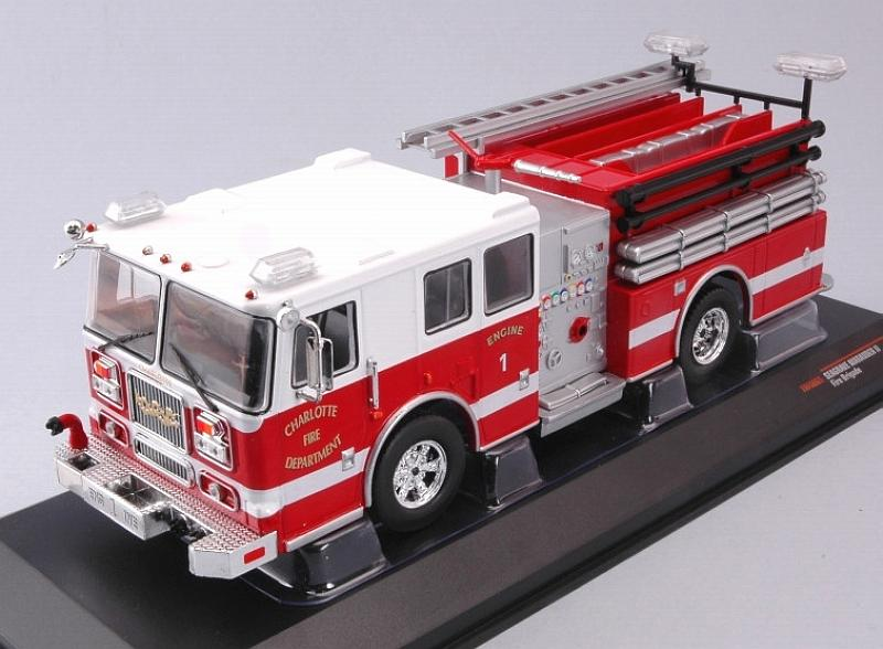 Seagrave Marauder II Charlotte Fire Department Truck by ixo-models