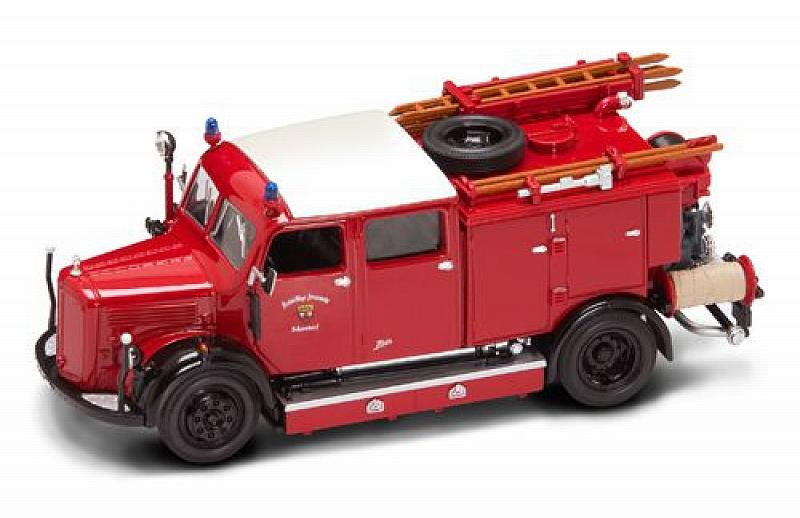 Mercedes Tlf-50 1950 Fire Truck by lucky-die-cast