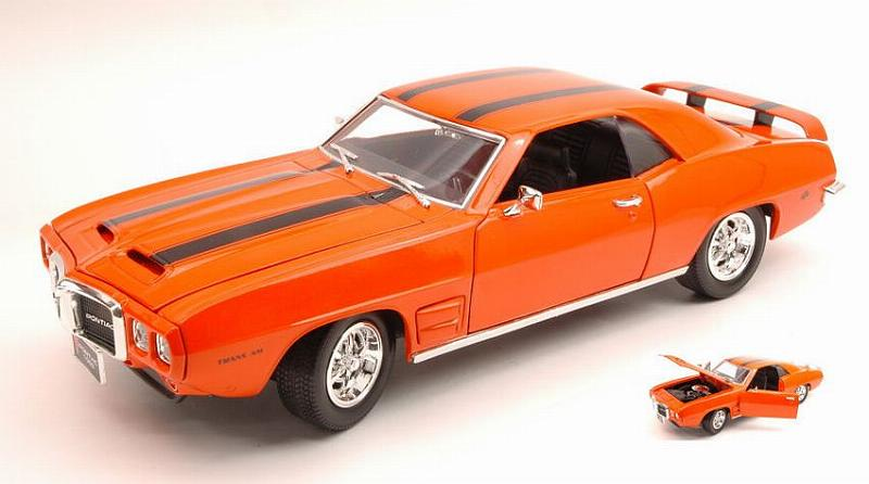Pontiac Firebird Trans Am 1969 Orange by lucky-die-cast