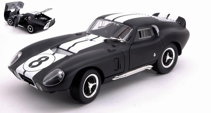 Shelby Cobra Daytona Coupe' 1965 Matt Black by lucky-die-cast