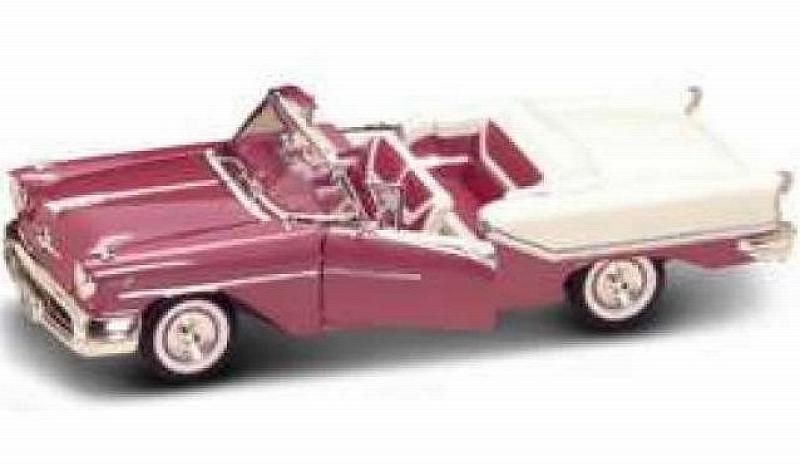 Oldsmobile Super 88 Convertible Pink/white by lucky-die-cast