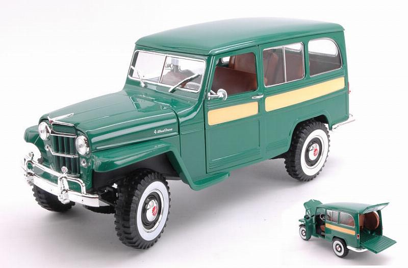 Willys Jeep Green by lucky-die-cast