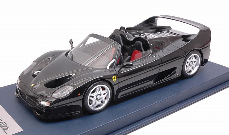 Ferrari F50 Spider (Nero DS) with display case by looksmart