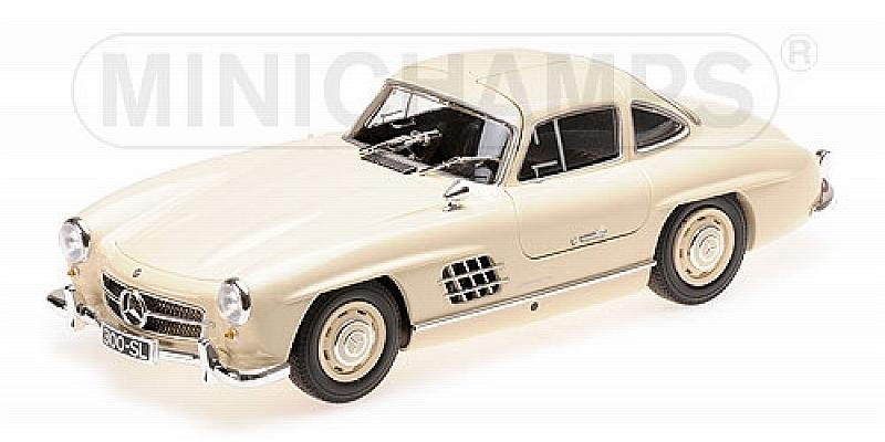 Mercedes 300 SL Gullwing W198 1955 (Creme) by minichamps