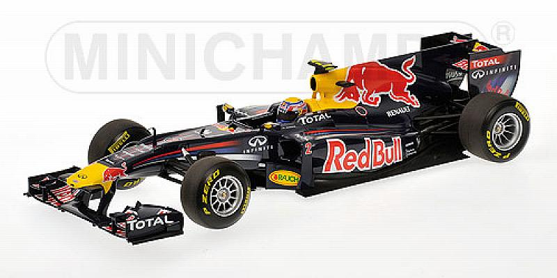 Red Bull Showcar 2011 Mark Webber by minichamps