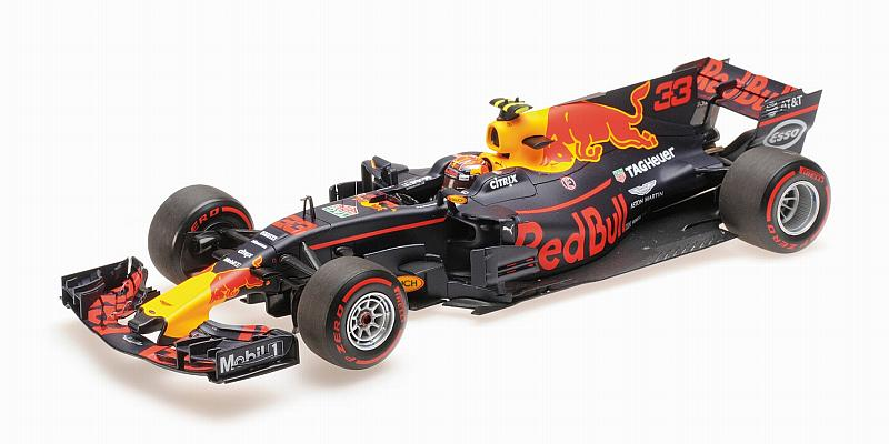 Red Bull RB13 Winner GP Malaysia 2017 Max Verstappen by minichamps