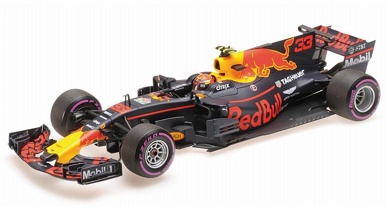 Red Bull RB13 Winner GP Mexico 2017 Max Verstappen by minichamps