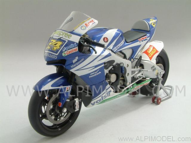 minichamps Honda RC212V Team Honda Gresini MotoGP 2007 Toni Elias (1/12 scale model)