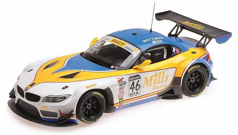 BMW Z4 GT3 E89 Mills Racing World Challenge 2016 Wittmer - Mills by minichamps