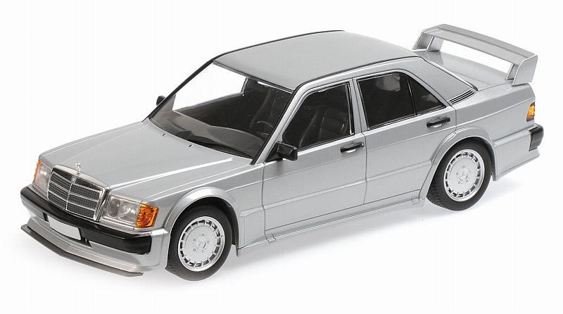 Mercedes 190E 2.5-16 Evo 1 (Silver) by minichamps
