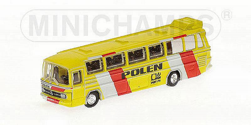 Mercedes O302 Bus Polen 1974  (N scale - 1/160) by minichamps