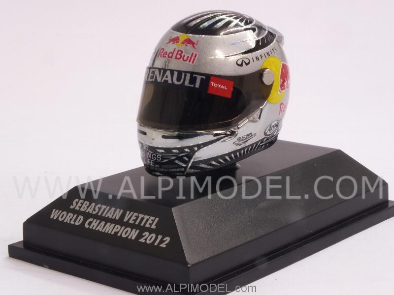 Helmet Arai 2012 World Champion Sebastian Vettel (1/8 scale - 3cm) by minichamps