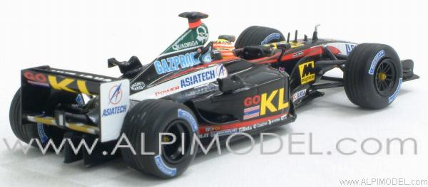 Minardi Asiatech KL PS02 Alex Yoong 2002 - minichamps