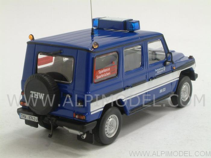 Mercedes 230 GD 1991 THW Saarbrucken - minichamps
