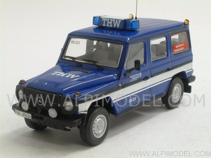 Mercedes 230 GD 1991 THW Saarbrucken by minichamps