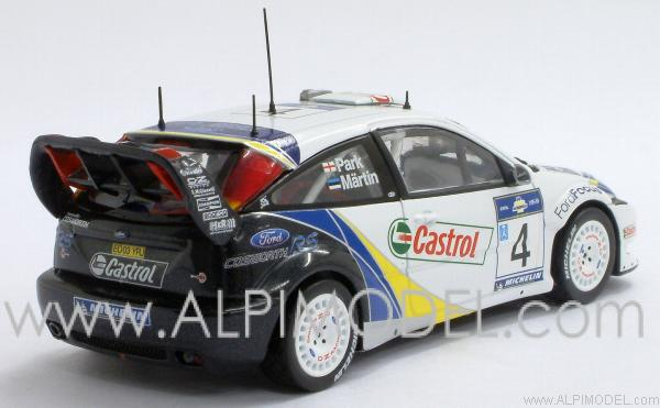 Ford Focus RS WRC Winner Rally Acropolis 2003 Maertin - Park - minichamps