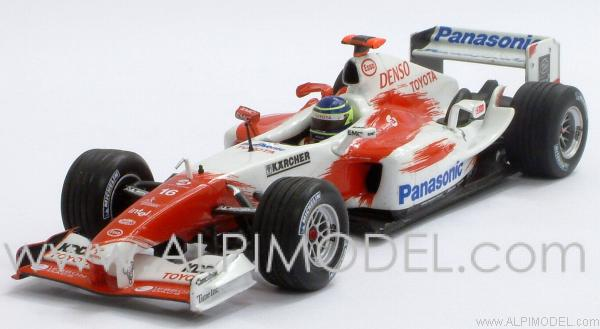 Toyota TF104 Panasonic  2004 C. Da Matta by minichamps