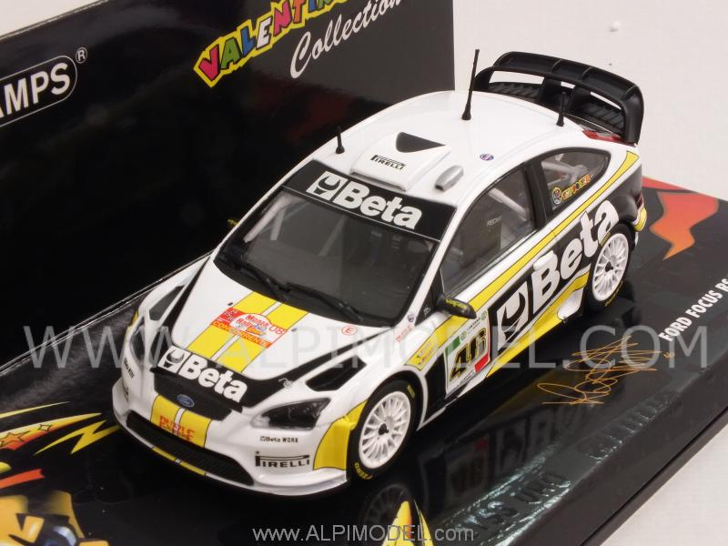 Ford Focus Rally Beta Valentino Rossi Rally Monza 2008 - minichamps