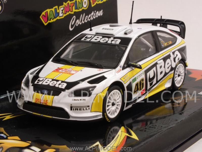Ford Focus Rally Beta Valentino Rossi Rally Monza 2008 by minichamps