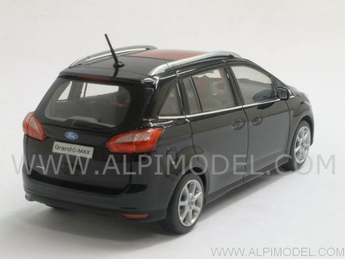 Ford C-Max Grand 2010 (Panther Black Metallic) - minichamps