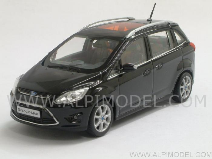 Ford C-Max Grand 2010 (Panther Black Metallic) by minichamps