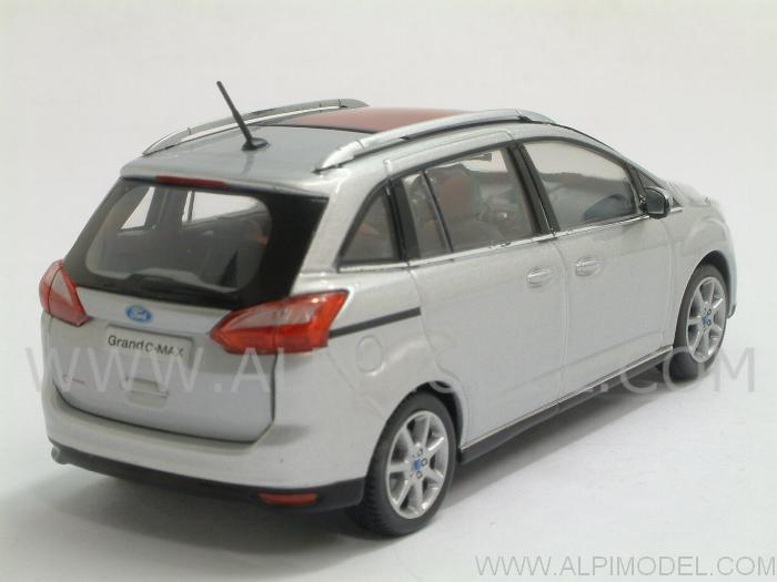 Ford C-Max Grand 2010 (Polar Silver) - minichamps