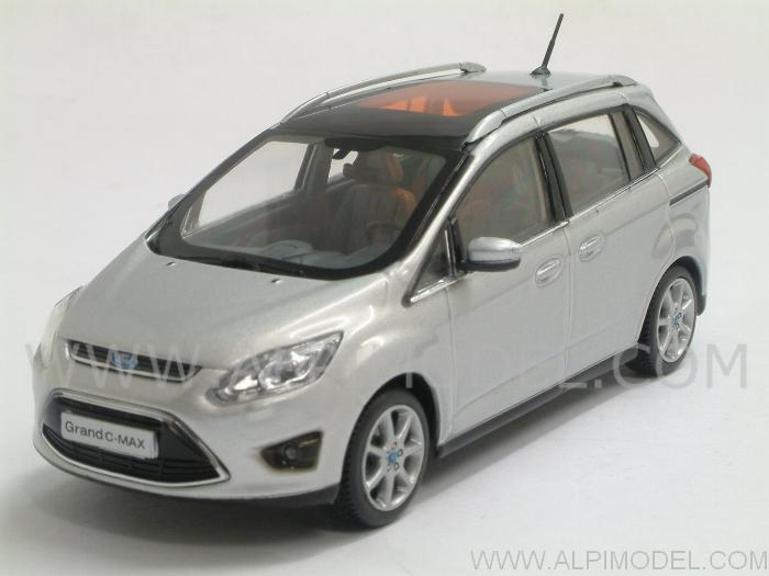 Ford C-Max Grand 2010 (Polar Silver) by minichamps