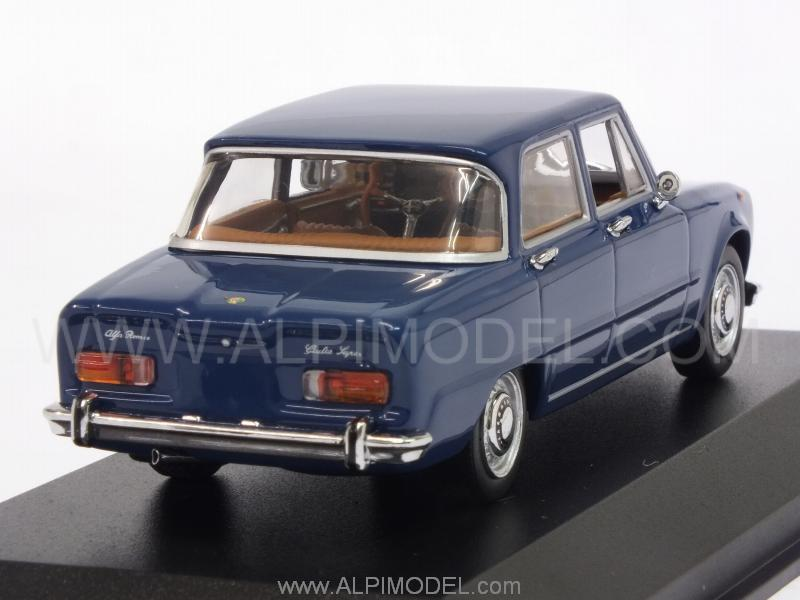 minichamps alfa romeo giulia 1970 blu francia 1 43. Black Bedroom Furniture Sets. Home Design Ideas