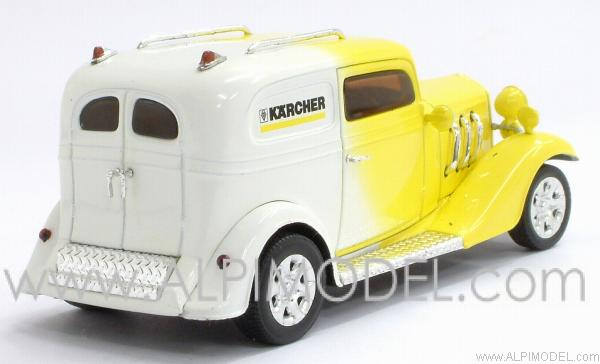 American Hot Rod 'Kaercher' (Yellow/White) - minichamps