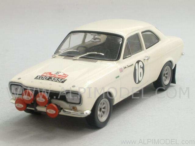 Ford Escort Mk1 TC #16 Rally Sanremo 1968 Andersson - Davenport by minichamps