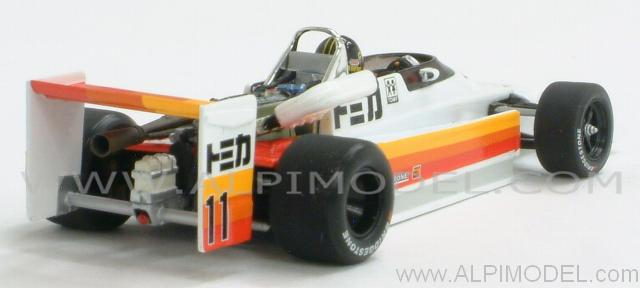 March BMW 792 F2 1979 M. Hasemi F2 - minichamps