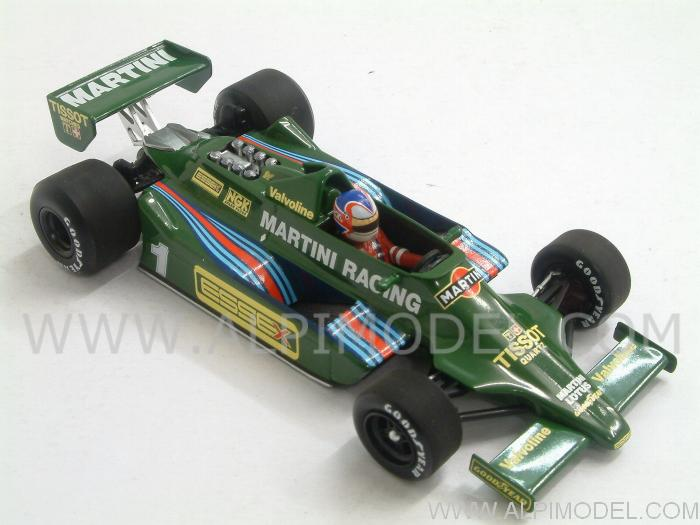 Lotus 79 Ford  Martini 1st Test Paul Ricard 1979  Nigel Mansell - minichamps