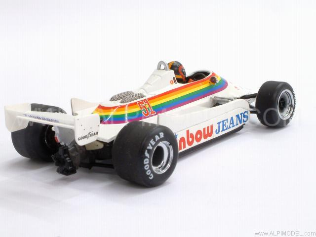 Williams FW07 Ford  RAM GP Canada 1980 K. Cogan - minichamps