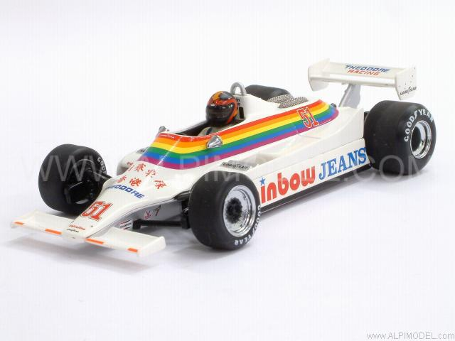 Williams FW07 Ford  RAM GP Canada 1980 K. Cogan by minichamps