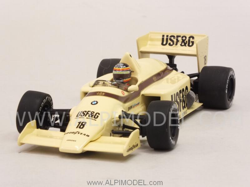 Arrows A8 BMW British GP 1986   Thierry Boutsen by minichamps