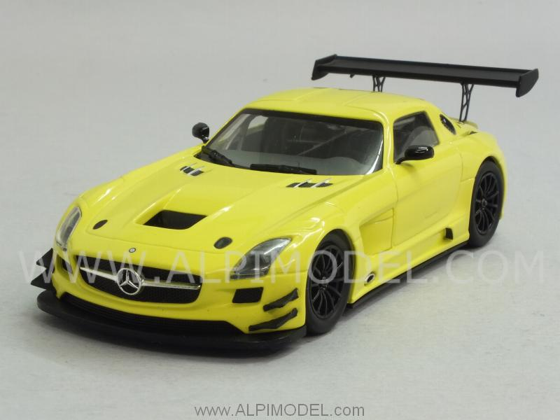 Mercedes SLS AMG GT3 2011 (Yellow) by minichamps