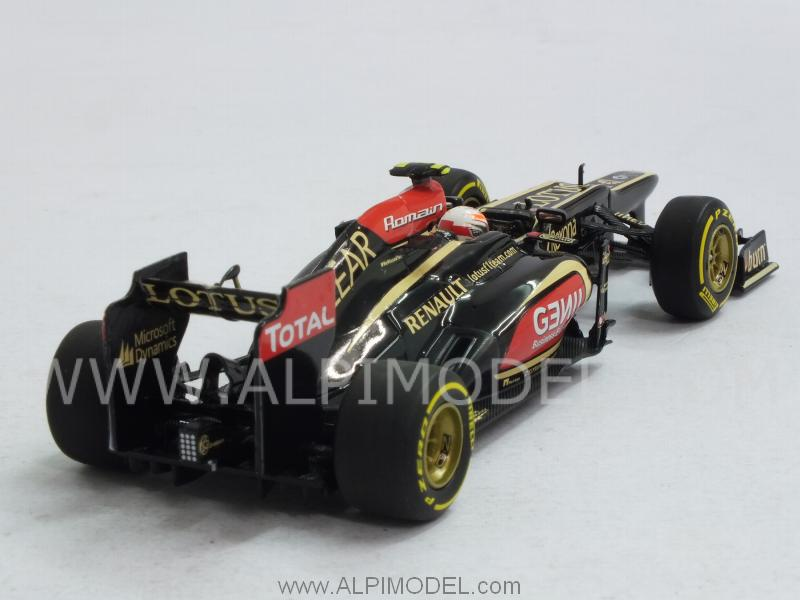 Lotus E21 Renault 2013 Romain Grosjean - minichamps