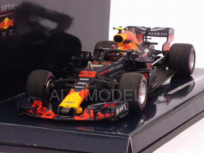 Red Bull RB14 #33 Winner GP Mexico 2018 Max Verstappen by minichamps