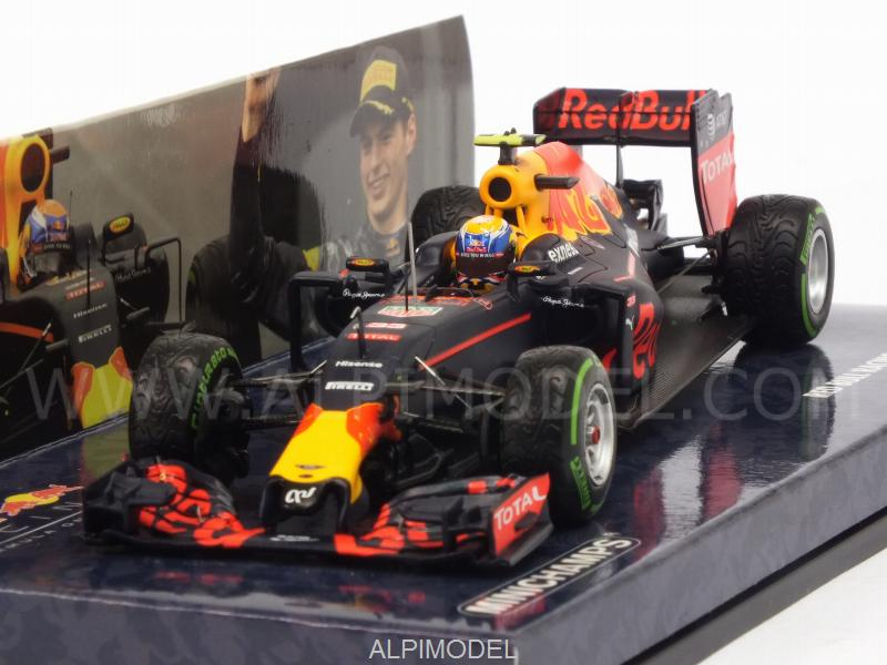 Red Bull RB12 #33 GP Brasil 2016 3rd Place Max Verstappen (HQ resin) by minichamps