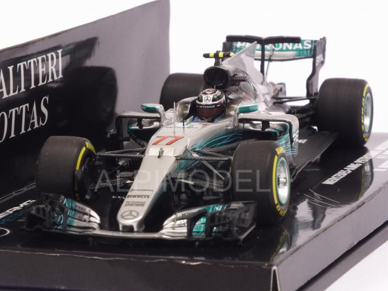 Mercedes W08 AMG #77 GP China 2017 Valtteri Bottas (HQ resin) by minichamps