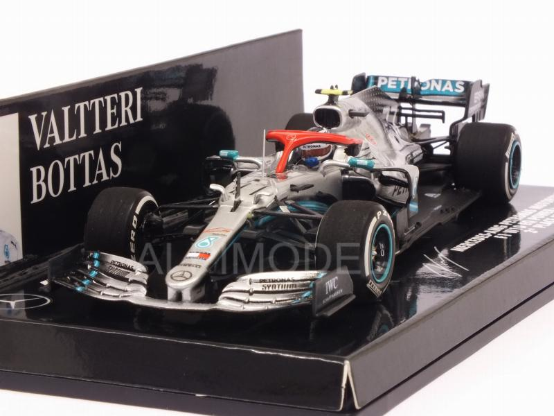 Mercedes W10 AMG #77 GP Monaco 2019 Valtteri Bottas by minichamps