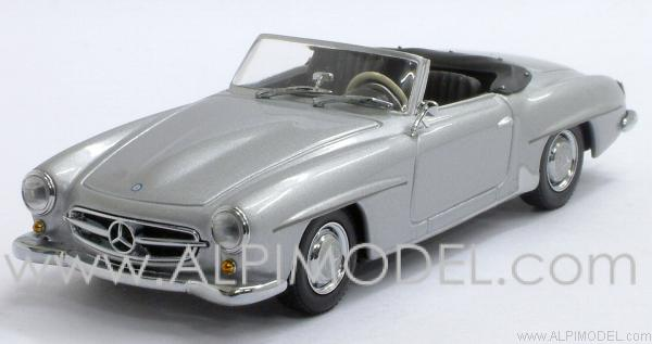 Mercedes 190 SL 1955 (Silver Grey) by minichamps